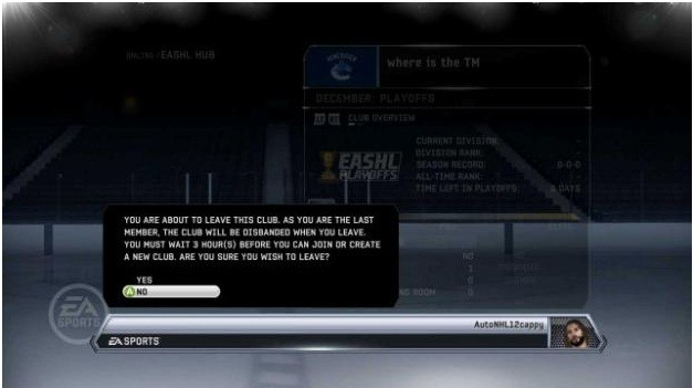 NHL 12 Screenshot #48 for Xbox 360