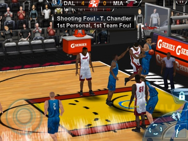 NBA 2K12 Screenshot #1 for iOS