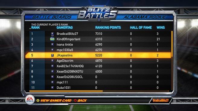 NFL Blitz Screenshot #8 for Xbox 360