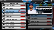 MLB 12 The Show screenshot #3 for PS Vita - Click to view