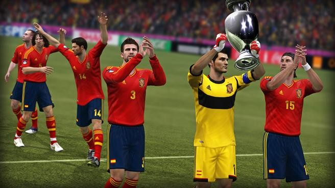 UEFA Euro 2012 Screenshot #7 for Xbox 360