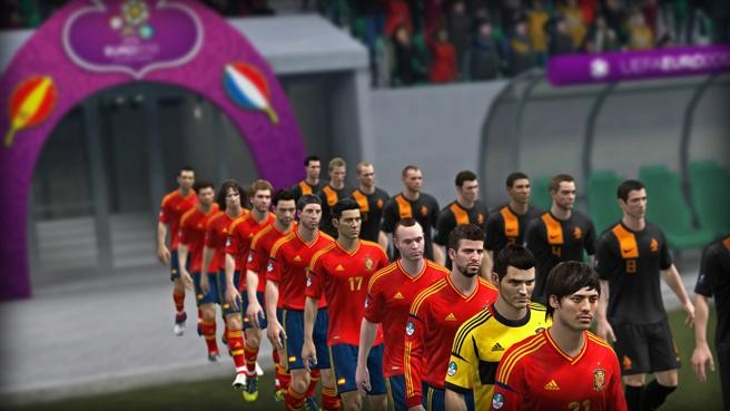UEFA Euro 2012 Screenshot #8 for Xbox 360