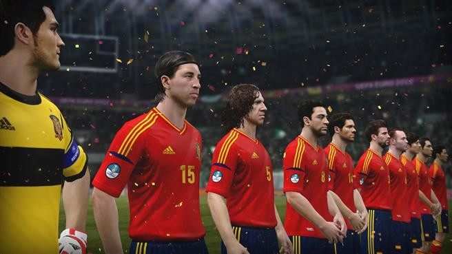 UEFA Euro 2012 Screenshot #14 for Xbox 360