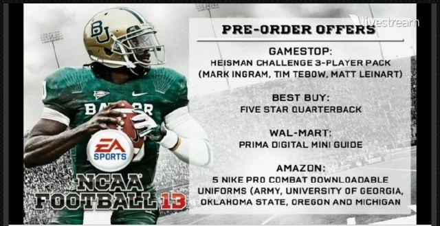 NCAA Football 13 Screenshot #13 for Xbox 360