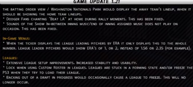 MLB 12 The Show Screenshot #44 for PS3