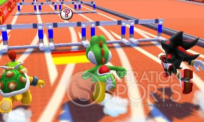 Mario & Sonic at the 2012 London Olympics Screenshot #3 for Wii