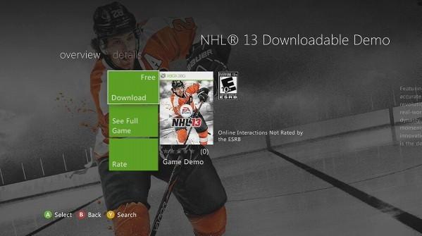 NHL 13 Screenshot #177 for Xbox 360