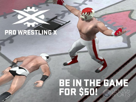 Pro Wrestling X: Uprising Screenshot #5 for PC