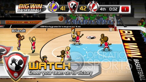 Big Win Basketball Screenshot #4 for iOS