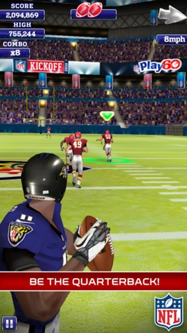 NFL Quarterback 13 Screenshot #2 for iOS