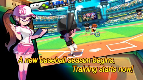 Baseball Superstars 2013 Screenshot #2 for iOS