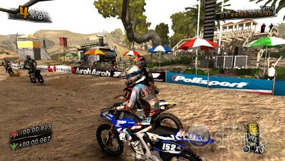 MUD: FIM Motocross Championship  Screenshot #2 for PS Vita