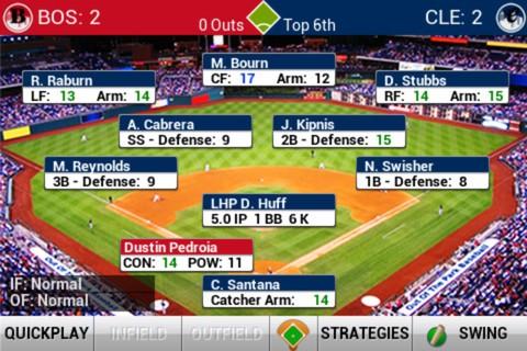 iOOTP Baseball 2013 Screenshot #1 for iOS