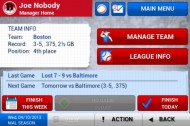 iOOTP Baseball 2013 screenshot #2 for iOS - Click to view