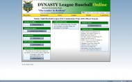 Dynasty League Baseball Online screenshot #37 for PC - Click to view