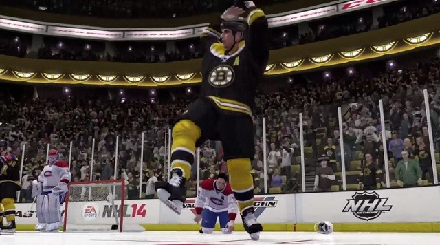 NHL 14 Screenshot #13 for Xbox 360