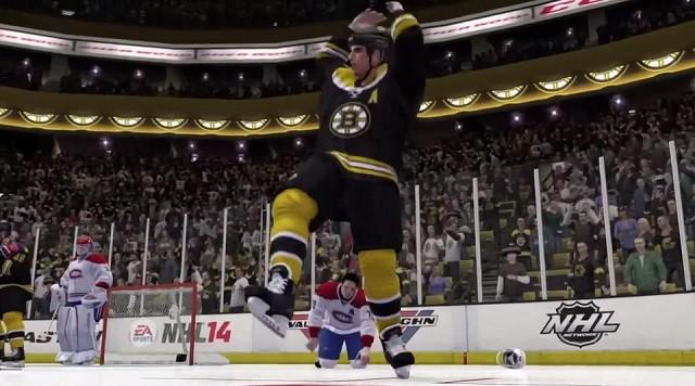 NHL 14 Screenshot #13 for Xbox 360