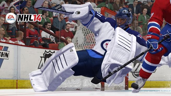 NHL 14 Screenshot #19 for Xbox 360