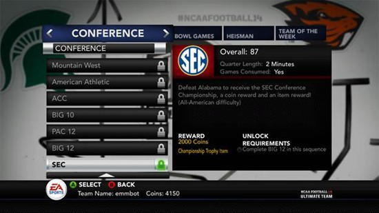 NCAA Football 14 Screenshot #74 for PS3