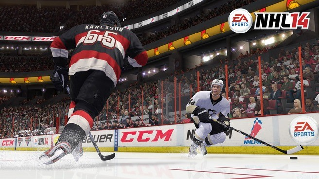 NHL 14 Screenshot #31 for Xbox 360