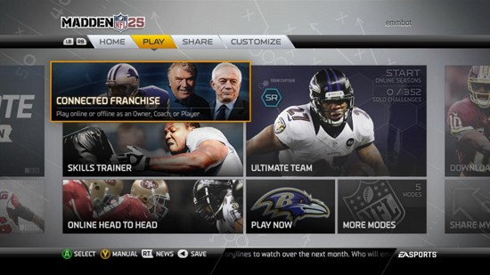 Madden  NFL 25 Screenshot #171 for Xbox 360