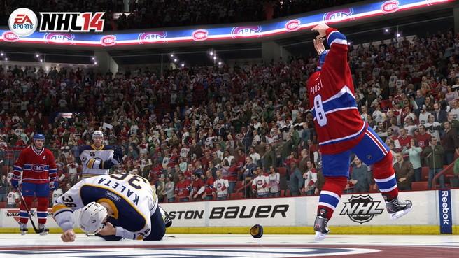 NHL 14 Screenshot #35 for Xbox 360