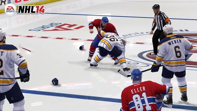 NHL 14 Screenshot #38 for Xbox 360