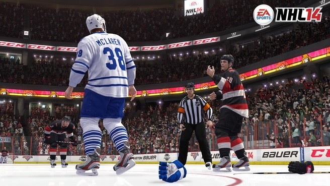 NHL 14 Screenshot #40 for Xbox 360