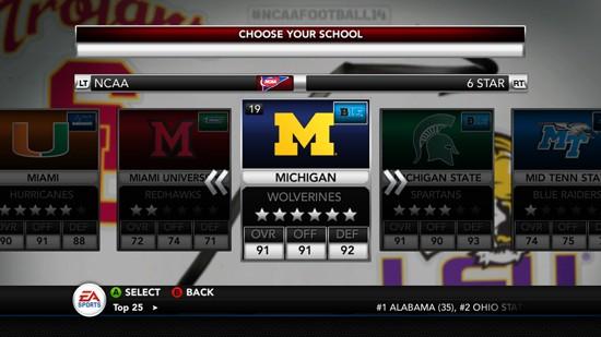 NCAA Football 14 Screenshot #224 for Xbox 360