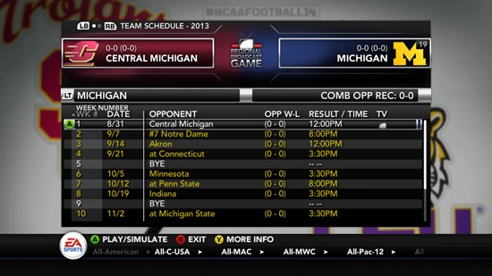 NCAA Football 14 Screenshot #176 for PS3