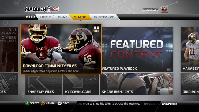 Madden  NFL 25 Screenshot #179 for Xbox 360