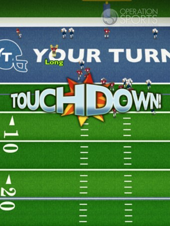 Your Turn Football Screenshot #1 for iPad
