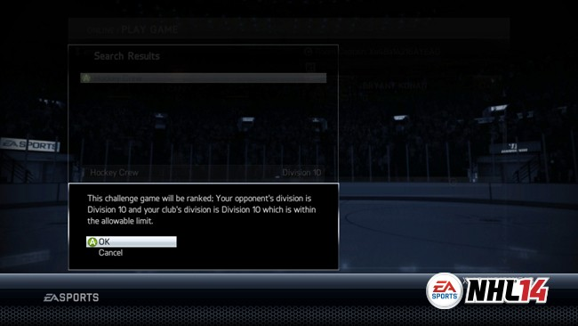 NHL 14 Screenshot #93 for Xbox 360