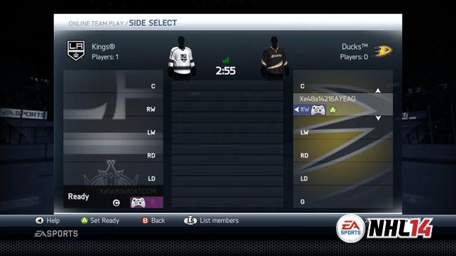 NHL 14 Screenshot #98 for Xbox 360
