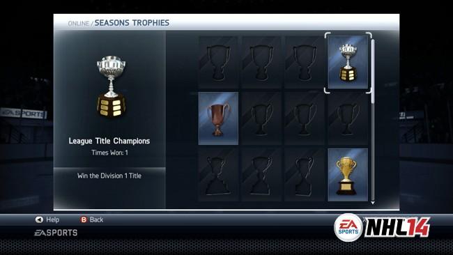NHL 14 Screenshot #100 for Xbox 360