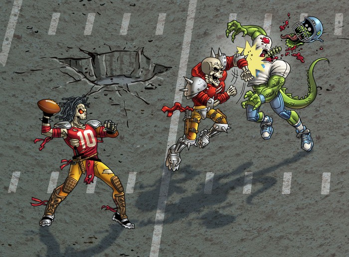 Mutant Football League Screenshot #2 for Android, iOS