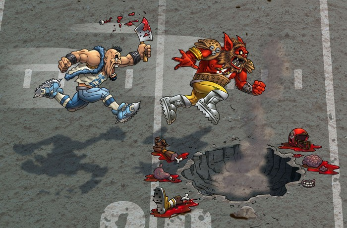 Mutant Football League Screenshot #3 for Android, iOS