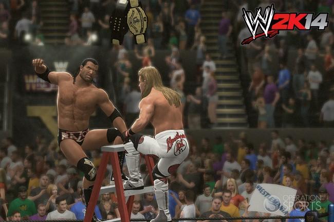 WWE 2K14 Screenshot #44 for PS3