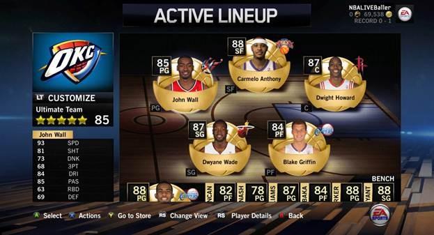 NBA Live 14 Screenshot #54 for Xbox One