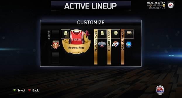 NBA Live 14 Screenshot #55 for Xbox One