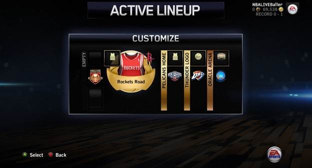 NBA Live 14 Screenshot #38 for PS4