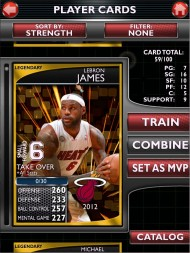 MyNBA2K14 screenshot #3 for iOS - Click to view