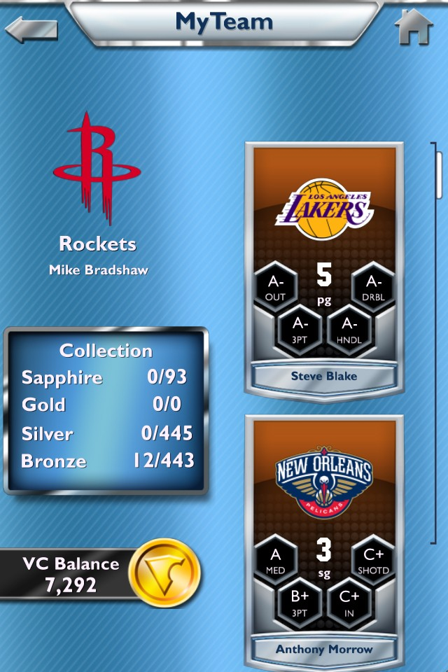 MyNBA2K14 Screenshot #7 for iOS