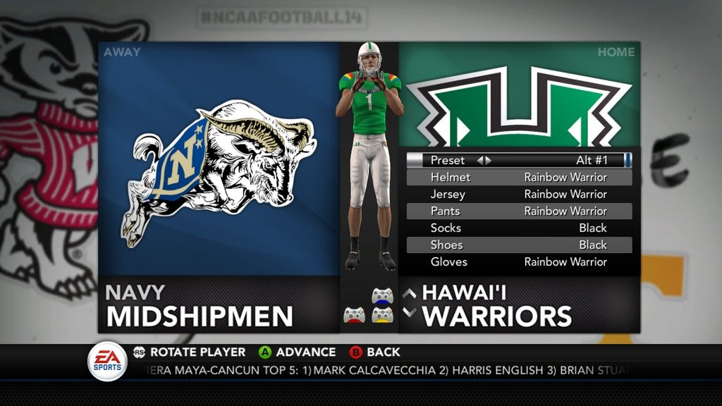 fe0aa19ad NCAA Football 14 Uniform Pack 9 Now Available - Operation Sports