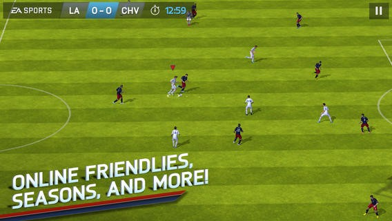 FIFA Soccer 14 Screenshot #7 for iOS
