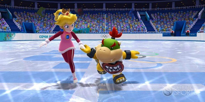 Mario and Sonic At the Winter Olympics Sochi 2014 Screenshot #4 for Wii U