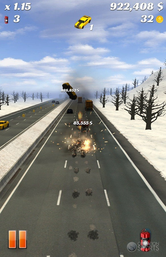 Highway Crash Derby Screenshot #3 for Android, iOS