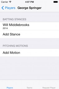 MLB The Show Batting Stance - Pitching Motion App screenshot gallery - Click to view