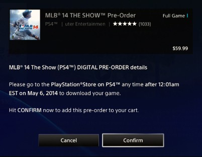 MLB 14 The Show Hits PS4 Today – PlayStation.Blog