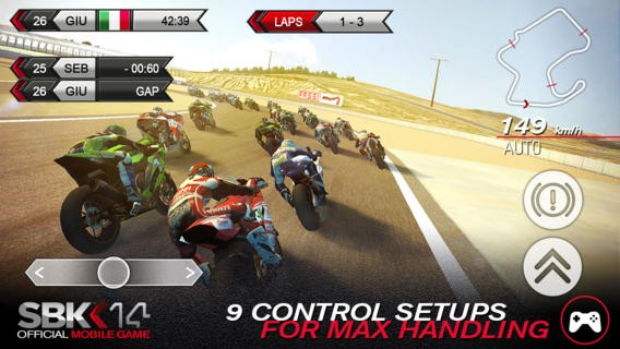 SBK14 Official Mobile Game Screenshot #1 for iOS